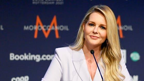 """""""Supertalent""""-Moderatorin Chantal Janzen wird von ihrer Film-Vergangenheit eingeholt."""