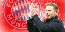 Nagelsmann schläft in Bayern-Bettwäsche mit seinem Sohn