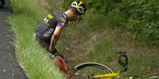 Rad-Star muss nach nächstem Sturz die Tour beenden