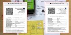 Wiener bekommt grünen Pass, ohne sich impfen zu lassen
