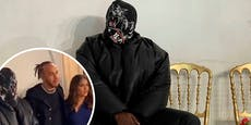 US-Superstar verwirrt auf Modenschau mit dieser Maske