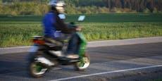 Mopedlenker (19) liefert Polizei wilde Verfolgungsjagd
