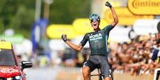 Ausreißer Politt triumphiert auf zwölfter Tour-Etappe