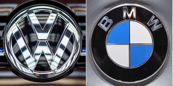 Wegen Verstößen gegen das Kartellrecht brummt die EU-Kommission den deutschen Autobauern BMW und VW Strafen in Millionenhöhe auf.