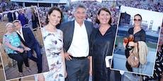 Großer Promi-Auflauf bei Haider-Premiere in Mörbisch