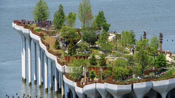 Little Island in New York – ein 10.000-Quadratmeter-Park am Hudson River