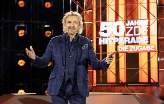"""Thomas Gottschalk feiert mit der ZDF-""""Hitparade"""" am Samstag eine TV-Zugabe"""