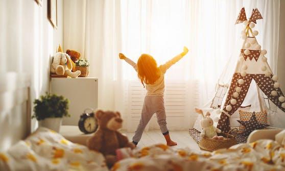 Bei der Einrichtung des Kinderzimmers, soll ebenso das Kind seine Wünsche dazu äußern können.