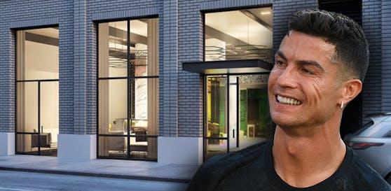 Cristiano Ronaldo stellt sein neues Hotel vor.