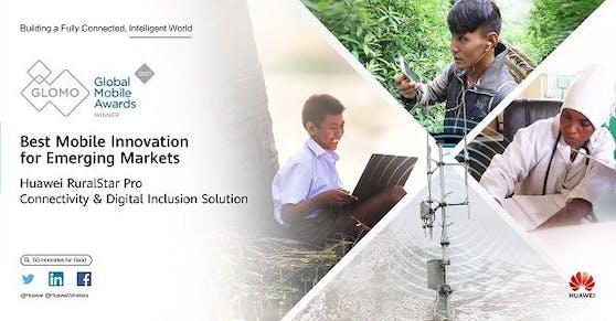 Huawei gewinnt 5 GLOMO Awards auf dem MWC 2021.