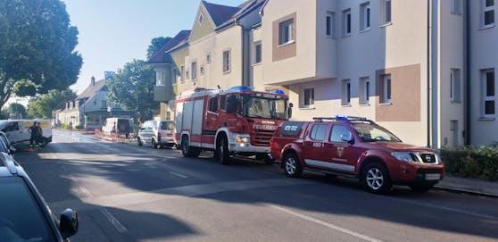 Wasserrohrbruch: Einsatz für die Feuerwehr in Biedermannsdorf