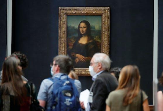 "Da Vincis ""Mona Lisa"" im Pariser Louvre"
