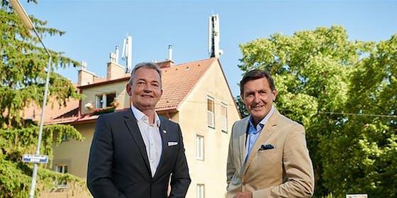 Stadt Wien und A1 nehmen österreichweit 2.000. A1 5G Sender in Betrieb.