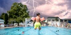 Erst Hitze, dann Blitze – Gewitter rollen auf Wien zu