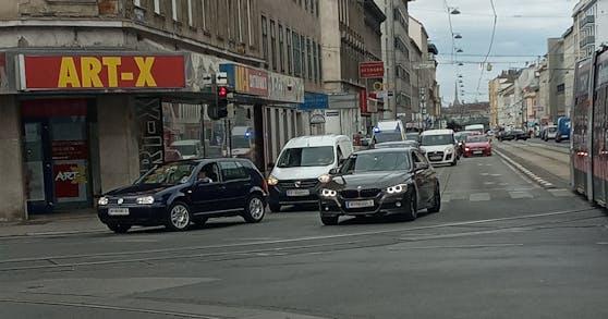 In Wien-Favoriten wurde am Freitag ein 54-Jähriger angefahren
