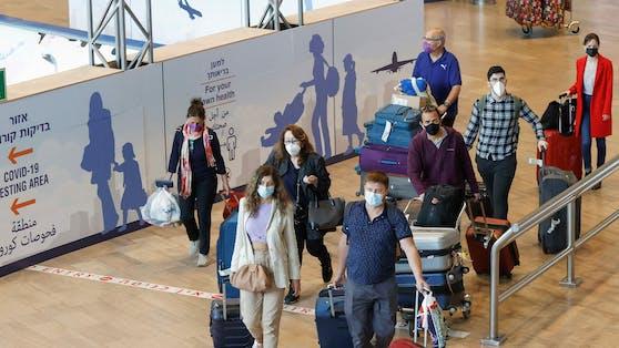 """Im Kampf gegen die erneut steigenden Corona-Zahlen verschärft auch Israel seine Einreise-Regeln. (Im Bild: Flughafen """"Ben Gurion"""" in Israel)"""