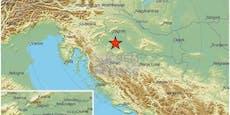 Wieder Erdbeben in Kroatien – 3,5 auf der Skala
